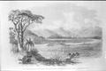 Click to view A slightly fanciful etching of Queens Redoubt 1863 (Auckland